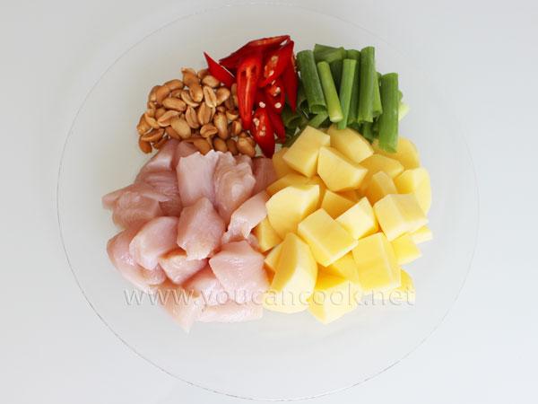 Hähnchen Curry Rezept - Zutaten